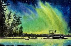 Camp Manitou Northern Lights
